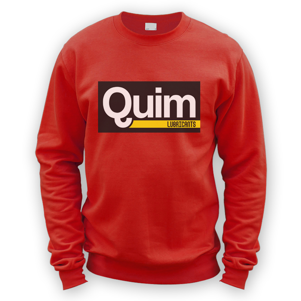 Quim Lubricants Sweater -x8 Colours- Gift Funny Mechanic Hot Rod ...